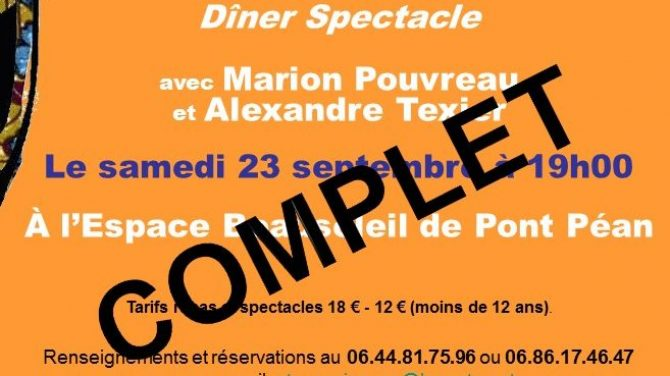 SOIREE CARITATIVE DU 23 SEPTEMBRE